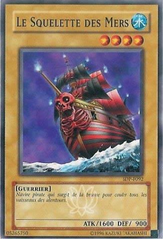 Le squelette des Mers