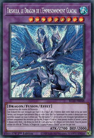Trishula, le Dragon de l'Emprisonnement Glacial