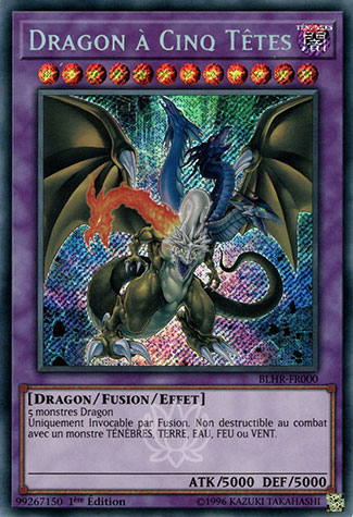 Yu-Gi-Oh Dragon A Cinq Têtes PGL2-FR078 1st