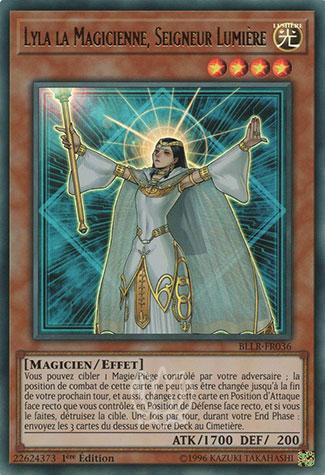 Yu-Gi-Oh Lyla La Magicienne Seigneur Lumiére LODT-FR019