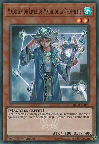 Magicien du Livre de Magie de la Prophétie