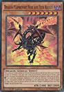 Dragon Flamboyant Noir aux Yeux Rouges
