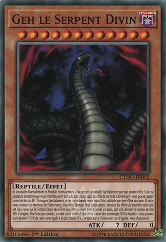 Geh le Serpent Divin