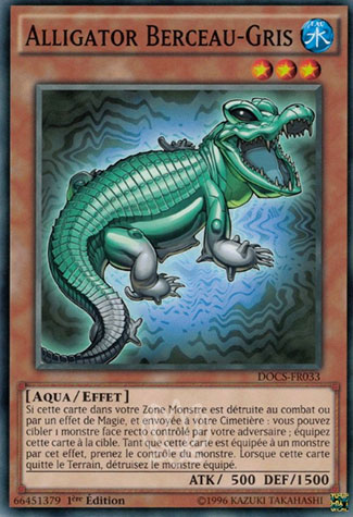Alligator Berceau-Gris
