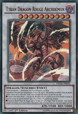 Tyran Dragon Rouge Archdemon