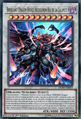 Bouillant Dragon Rouge Archdémon Roi de la Calamité