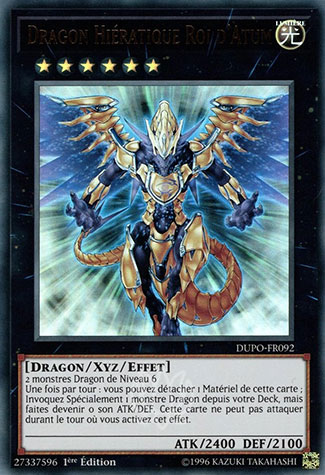 Dragon Hiératique Roi d'Atum