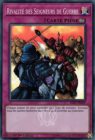 Rivalité des Seigneurs de Guerre
