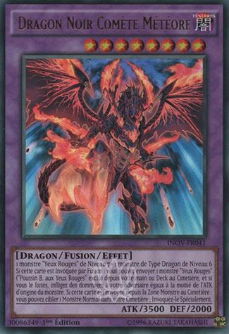 Dragon Noir Comète Météore