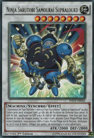 Ninja Sarutobi Samouraï Supralourd