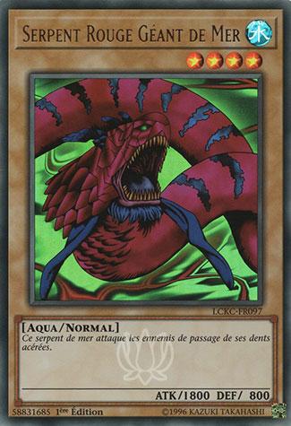 Serpent de Mer Rouge Géant