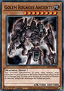 Golem Rouages Ancients