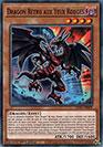 Dragon Rétro aux Yeux Rouges