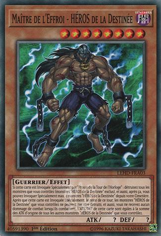 Maître de l'Effroi - Héros de la Destinée
