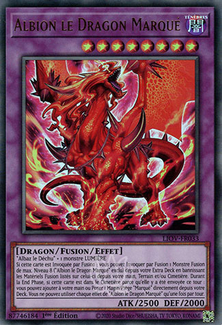 Albion le Dragon Marqué