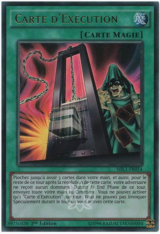 Carte D'Exécution