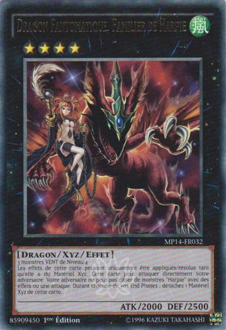 Dragon Fantomatique, Familier De Harpie
