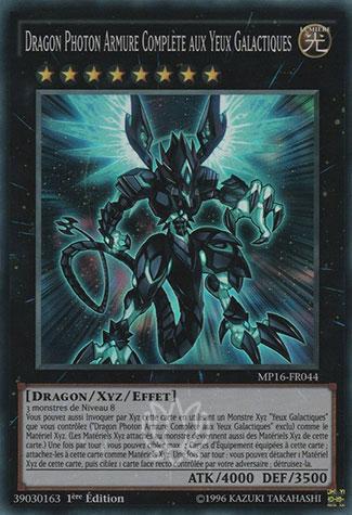 Dragon Photon Armure Complète aux Yeux Galactiques