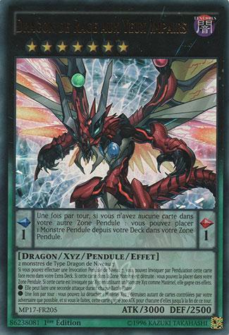 Dragon de Rage aux Yeux Impairs