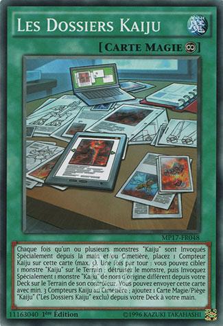 Les Dossiers Kaiju