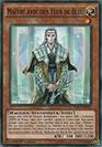 Maître avec des Yeux de Bleu