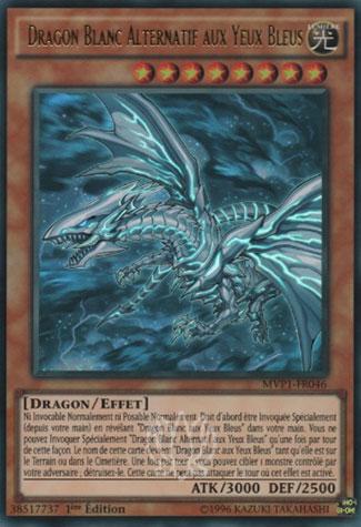 Dragon Blanc Alternatif aux Yeux Bleus