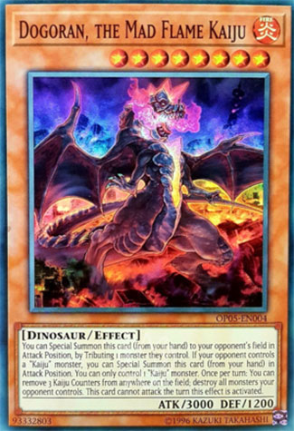 Dogoran, Kaiju des Flammes Enragées