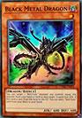 Dragon de Métal Noir