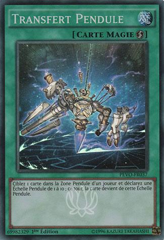 Transfert Pendule