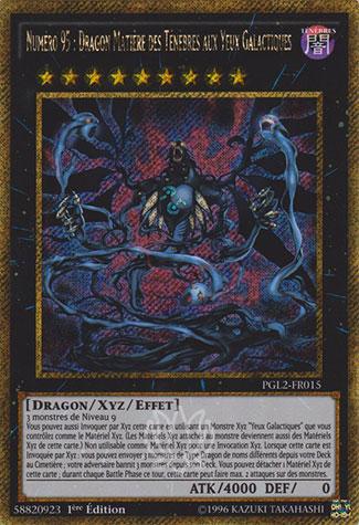 Numéro 95: Dragon Matière des Ténèbres aux Yeux Galactiques