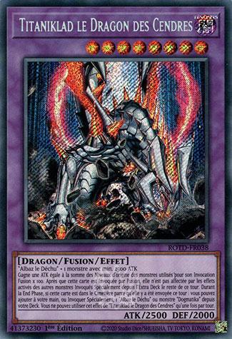 Titaniklad le Dragon des Cendres