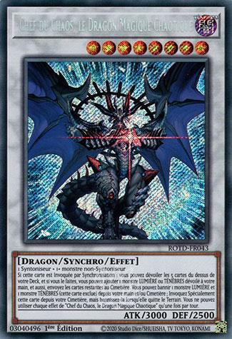 Chef du Chaos, le Dragon Magique Chaotique