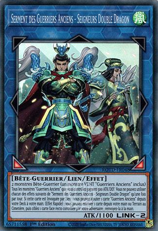 Serment des Guerriers Anciens - Seigneurs Double Dragon