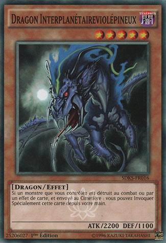 Dragon Interplanétaireviolépineux