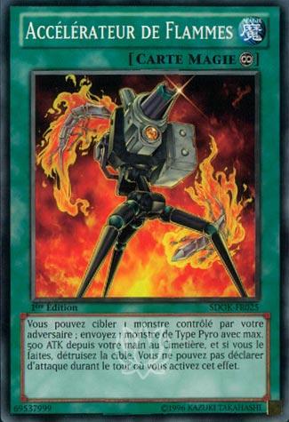Accélérateur de Flammes
