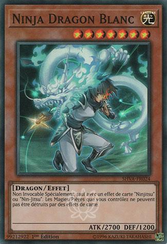 Ninja Dragon Blanc