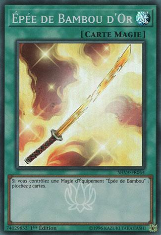 Épée De Bambou D'or