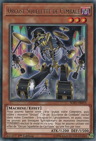 Orcust Squelette de Cymbale