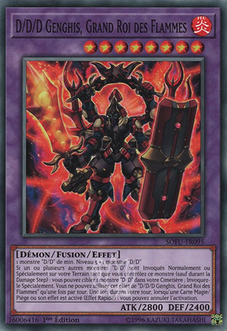 D/D/D Genghis, Grand Roi des Flammes