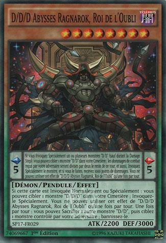 D/D/D Abysses Ragnarok, Roi de l'Oubli