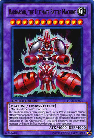 Barbaroid, l'Ultime Machine de Guerre
