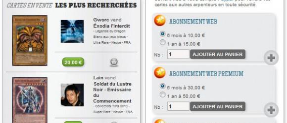 Vendez vos cartes sur OTK-Expert.fr grâce au module de vente de particulier à particulier